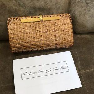 Rodo Clutch Made In Italy Woven